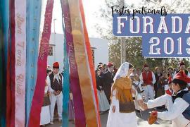 Programa de las fiestas patronales de Forada