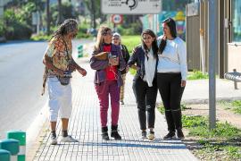 La iraní detenida en Ibiza tras huir de su país formaliza su petición de asilo político