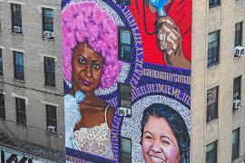 Un mural para dar visibilidad a las mujeres del Bronx