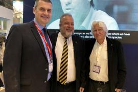 Steve Heapy, Manuel Marrero y Miguel Fluxá.
