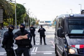 Un dispositivo policial de máximos garantizará la seguridad de las elecciones en Cataluña