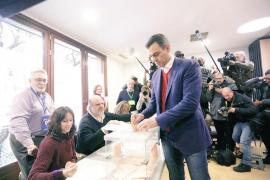 Sánchez anima a votar para «fortalecer» la democracia: «El derecho al voto es fundamental»