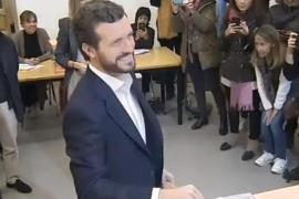 Casado pide votar «masivamente» para obtener un resultado «claro»