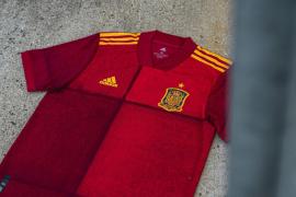 La nueva camiseta que España lucirá en la Eurocopa 2020