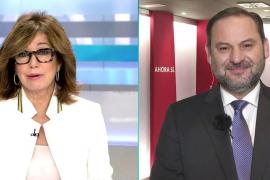 Ana Rosa Quintana y José Luis Ábalos
