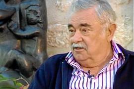 Fotograma de Pere A. Serra, durante una de las entrevistas