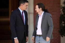 Pedro Sánchez y Pablo Iglesias llegan a un preacuerdo de Gobierno