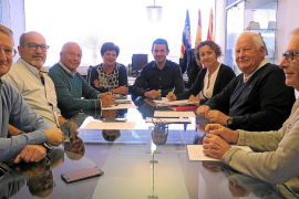 Sant Antoni informa a los vecinos sobre las actuaciones realizadas tras el tornado