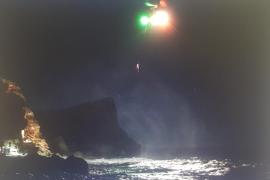 Rescate vital de un joven precipitado en Cap des Falcó