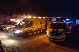 Operativo de rescate de un joven gravemente herido tras precipitarse en Cap des Falcó