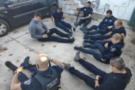 La Policía Local de Sant Antoni realiza un curso formativo de asistencia sanitaria