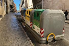 Imagen de contenedores en Palma