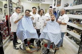 Hombres se dejan el bigote en Mallorca para dar visibilidad a las enfermedades masculinas