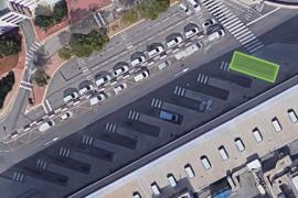 La parada de bus del aeropuerto cambia de ubicación por obras hasta el próximo 4 de diciembre