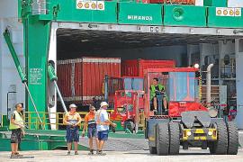 Huelga de estibadores en los puertos de Baleares a final de mes