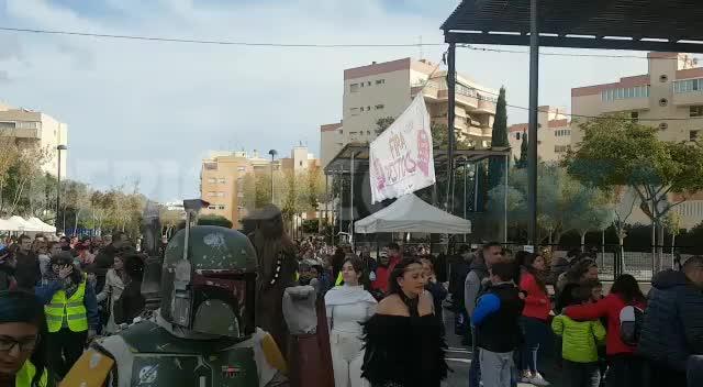 El Imperio y los Rebeldes de Star Wars, juntos para ayudar a Asperger Ibiza y Formentera