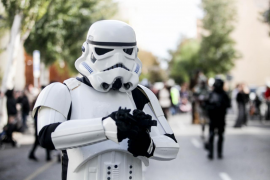 El desfile en Ibiza de los personajes de Star Wars, en imágenes .