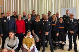 Sant Josep distingue a los voluntarios de la Agrupación de Protección Civil