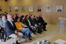 Los reconocimientos a los voluntarios de la Agrupación de Protección Civil de Sant Josep, en imágenes