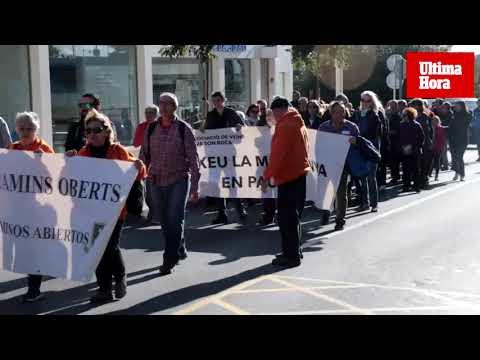 Unas 200 personas participan este domingo en la 'Marcha por el Clima' en Palma