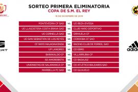 Peña Deportiva - Ponferradina y Pontevedra - UD Ibiza, en la Copa del Rey