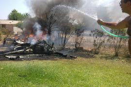 Una piloto testigo del accidente aéreo de Inca: «Huele a queroseno, va a explotar»