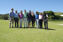 Profesionales contra amateurs en el Golf Ibiza