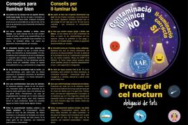 La AAE inicia una campaña informativa para prevenir la contaminación lumínica