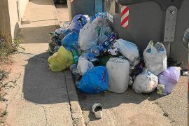 Problemas con la recogida de basuras