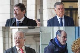 Francisco Javier Guerrero, José Antonio Viera, Antonio Fernández y Juan Márquez, condenados por el caso ERE