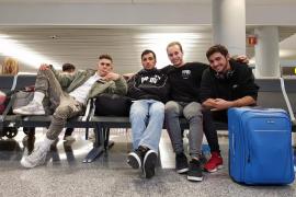 Cuatro mallorquines en el campeonato de Freestyle Calistenia de Holanda