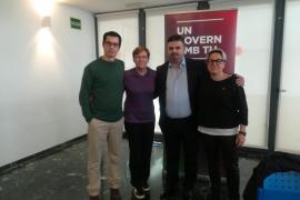 Antònia Jover, Sonia Vivas, Luis Segura y Bruno da Silva.