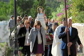 La primera procesión de Santa Catalina