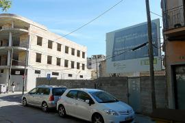 Solar donde se construirán viviendas de alquiler social en Manacor