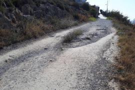 Cs solicitará la peatonalización del camino que conecta la calle Ramón Muntaner con el de Sa Berenada