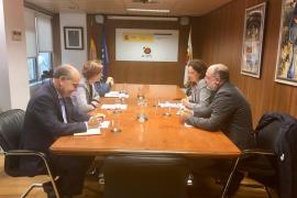 Reunión de la presidenta del Consell, Catalina Cladera, con la secretaria de Estado de Turismo, Bel Oliver