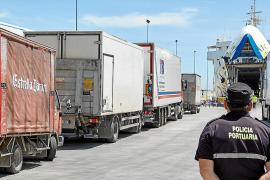 La subida de precios de las navieras costará a los transportistas de Mallorca 80 millones