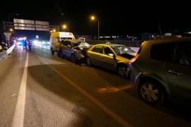 Investigado por positivo en alcohol el conductor que causó un accidente múltiple en Ibiza