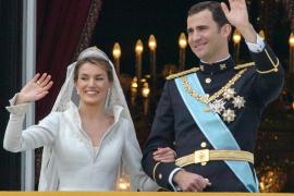 Letizia y Felipe el día de su boda