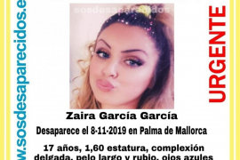 Desaparece una joven de 17 años en Palma