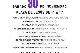 Jesús en Transició organiza este sábado el Mercat Social de Ibiza