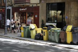 Contenedores de basura en Palma