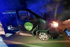 Detenido tras robar una furgoneta de forma violenta y embestir un control policial en Ibiza