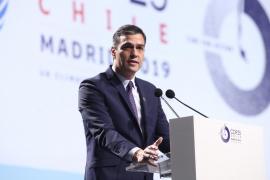 Sánchez asegura que «ningún muro» puede proteger a «ningún país por poderoso que sea» del cambio climático