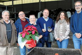 Homenaje a María Barceló y Toni Froilán en Son Pax