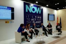 El vicepresidente del Govern balear, Juan Pedro Yllanes, ha participado en la mesa de debate 'La acción subnacional en la lucha contra el cambio climático' que se ha celebrado en la COP25