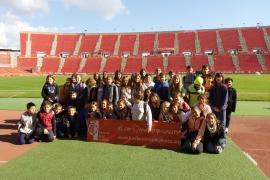 Alumnes de 5è i 6è del Ceip Port de Pollença varen visitar Son Moix i Tirme Es Parc
