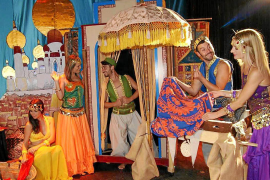 Aladin llega a Ibiza con la compañía de Marcos Penschow