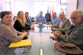 Sant Antoni y el Govern acuerdan construir un centro de telecomunicaciones en Santa Agnès
