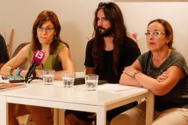 Laura Camargo, Baltasar Picornell y Sabina Riera